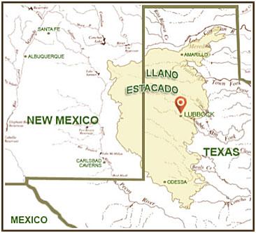 Figure 3. Llano Estacado. Source: http://www.meredithmcclainphd.com